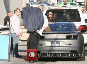 Victoria Beckham and Jimmy Kimmel