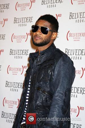 Usher Raymond  Belvedere Vodka Launch Party For (RED) Special Edition Bottle Held At Avalon Hollywood, California - 10.02.11