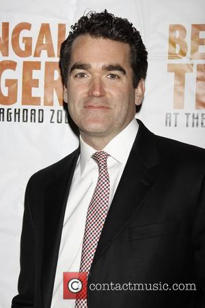 Brian d'Arcy James Opening night of the Broadway production of 'Bengal Tiger at the Baghdad Zoo' at the Richard Rodgers...
