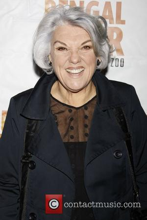Tyne Daly Opening night of the Broadway production of 'Bengal Tiger at the Baghdad Zoo' at the Richard Rodgers Theatre...