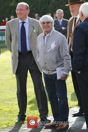 Bernie Ecclestone  at Kempton Park Racecourse to see his horse Greylami in action Kempton, Surrey - 16.10.11