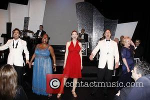 David Burnham, Lillias White, Rachel York, Howard McGillin and Sally Mayes  Opening night of the Rubicon Theater production of...