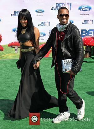 Alex_242 and producer Dallas Austin The 11th Annual BET Awards held at the Shrine Auditorium - Arrivals Los Angeles, California...