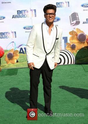 Bruno Mars BET Awards '11 held at the Shrine Auditorium  Los Angeles, California - 26.06.11