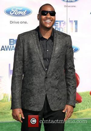 Carmelo Anthony BET Awards '11 held at the Shrine Auditorium Los Angeles, California - 26.06.11