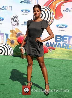 Claudia Jordan BET Awards '11 held at the Shrine Auditorium Los Angeles, California - 26.06.11