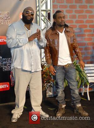Rick Ross and Wale BET Hip Hop Awards 2011 at the Atlanta Civic Center - Arrivals Atlanta, Georgia - 01.10.11
