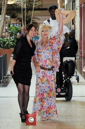 Betsey Johnson  celebrates the Grand Opening of her new namesake store at the Town Center Mall Boca Raton, Florida...