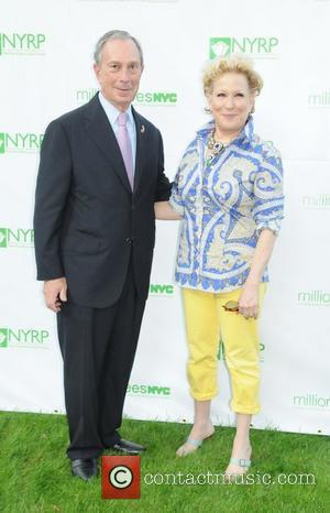 Mayor Michael Bloomberg, Bette Midler Bette Midler's New York Restoration Project's tenth annual Spring Picnic at Gracie Mansion New York...