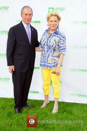 Bette Midler and Mayor Bloomberg