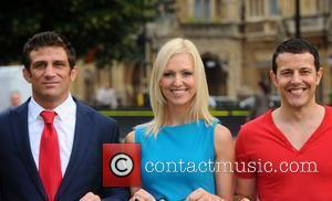 Alex Reid, Korin Nolan and Lee Latchford Evans Better Breakfast Campaign Photocall held at Cromwell Green London, England - 07.09.11