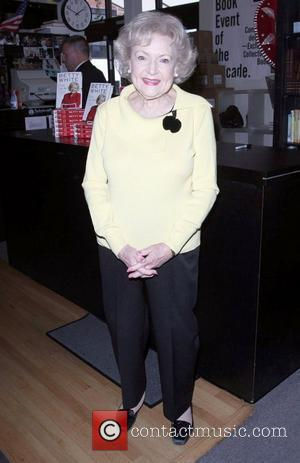 Betty White signs copies of her new book 'If You Ask Me (And of Course You Won't)' held at Book...