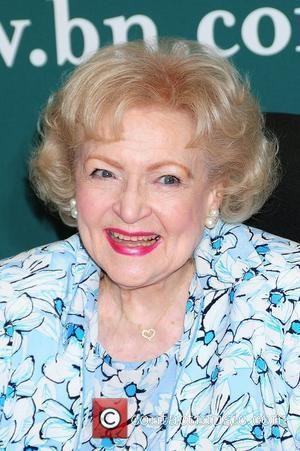 Betty White  signs copies of her new book 'If You Ask Me: (And of Course You Won't)' at Barnes...