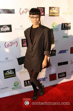 Bai Ling Beverly Hills Film Festival at The Roosevelt Hotel in Hollywood - arrivals Beverly Hills, California - 20.10.11