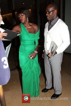 Viola Davis and Beverly Hilton Hotel