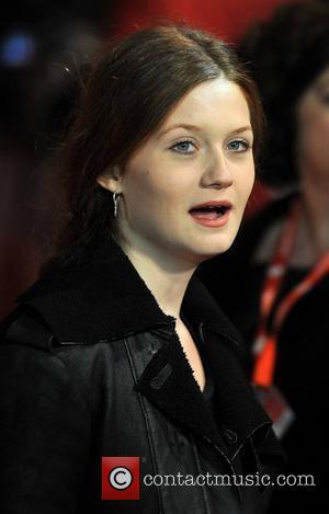 Bonnie Wright and Empire Leicester Square