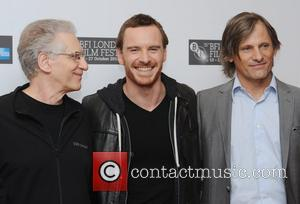 David Cronenberg, Michael Fassbender, Viggo Mortensen and Odeon West End