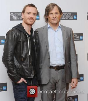 Viggo Mortensen, Michael Fassbender and Odeon West End