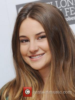 Shailene Woodley and Odeon West End