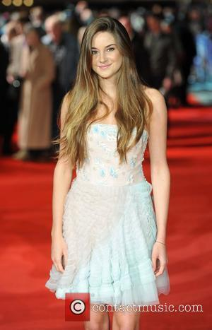 Shailene Woodley and Odeon Leicester Square