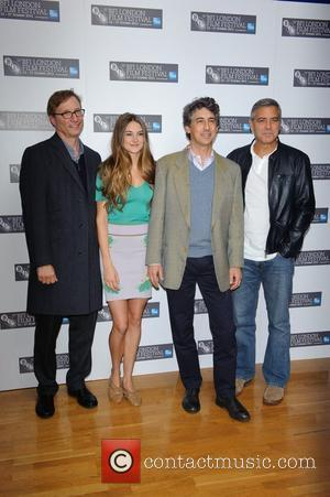 Jim Burke, Alexander Payne, George Clooney, Shailene Woodley and Odeon West End