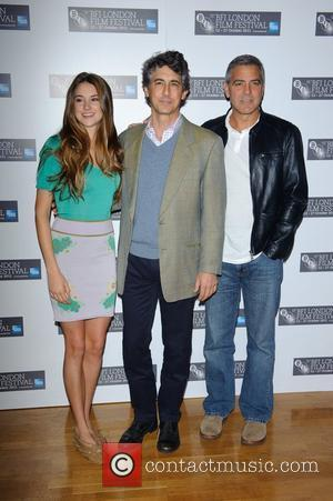 Shailene Woodley, Alexander Payne and George Clooney The BFI London Film Festival: Descendants - Photocall at Odeon West End. London,...