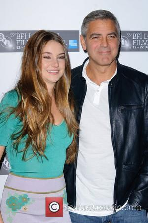 Shailene Woodley and George Clooney The BFI London Film Festival: Descendants - Photocall at Odeon West End. London, England -...