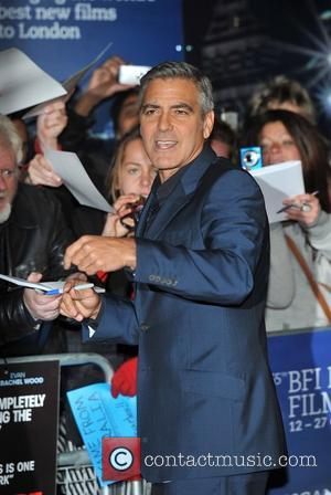 George Clooney and Odeon Leicester Square