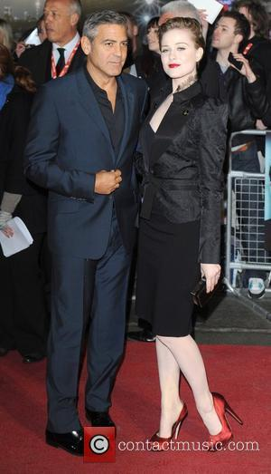George Clooney, Evan Rachel Wood and Odeon Leicester Square