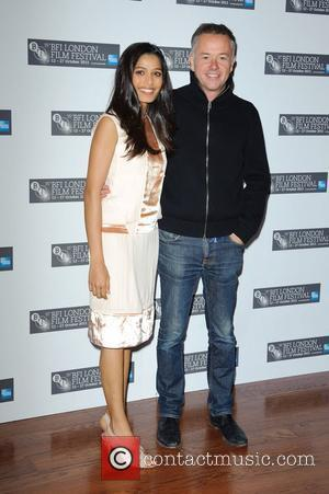 Freida Pinto and Michael Winterbottom