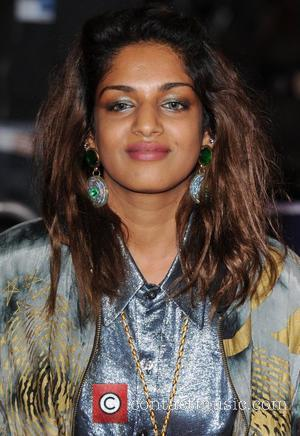 M.I.A, real name Mathangi Arulpragasam The BFI London Film Festival: W.E. - gala screening held at the Empire Leicester Square...
