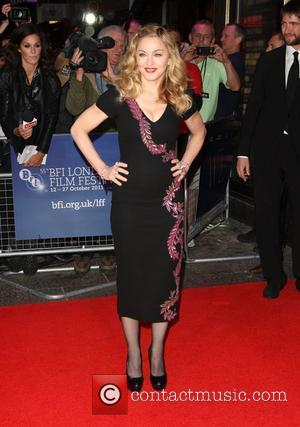 Madonna The BFI London Film Festival: W.E. - gala screening held at the Empire Leicester Square - Arrivals London, England...