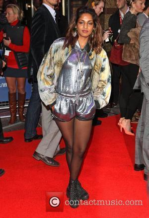 M.I.A The BFI London Film Festival: W.E. - gala screening held at the Empire Leicester Square - Arrivals London, England...