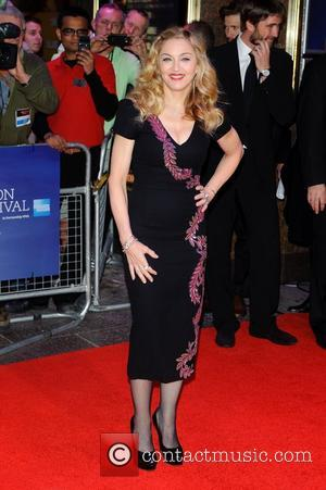 Madonna The BFI London Film Festival: W.E. - gala screening held at the Empire Leicester Square - Arrivals. London, England...