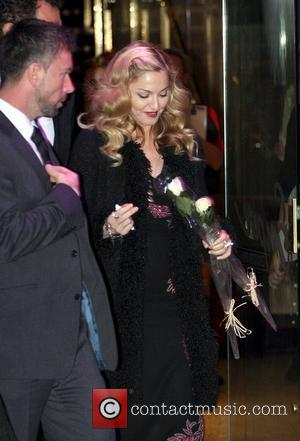 Madonna The BFI London Film Festival: W.E. - gala screening held at the Empire Leicester Square - outside departures...