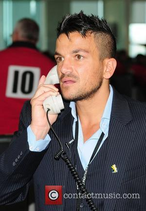 Peter Andre,  on the trading floor of BGC Partners' Charity Day which is held each year to commemorate the...