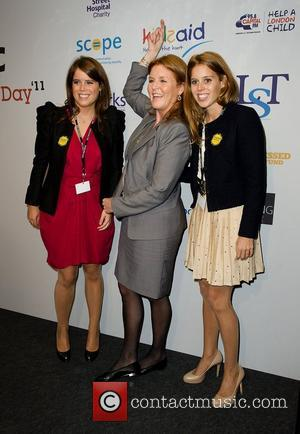 Sarah Ferguson and Princess Beatrice