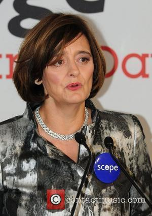 Cherie Blair,  on the trading floor of BGC Partners' Charity Day which is held each year to commemorate the...