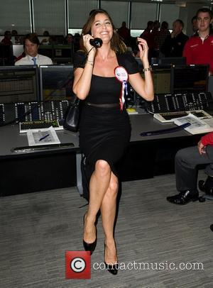 Lisa Snowdon,  on the trading floor of BGC Partners' Charity Day which is held each year to commemorate the...