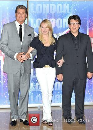 Amanda Holden, David Hasselhoff and Michael Mcintyre