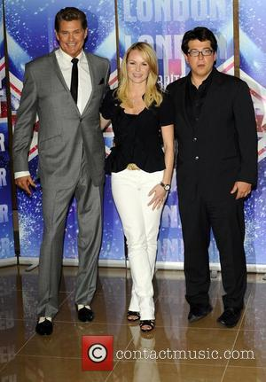 David Hasselhoff, Amanda Holden and Michael McIntyre