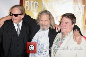 T-Bone Burnett, Jeff Bridges and John Goodman