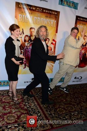 Jeff Bridges, Julianne Moore and John Goodman  'The Big Lebowski' Blu-ray release at the Hammerstein Ballroom New York City,...