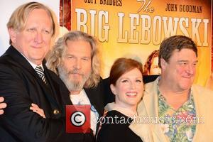 T-bone Burnett, Jeff Bridges, John Goodman and Julianne Moore