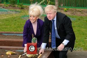 Barbara Windsor and Boris Johnson