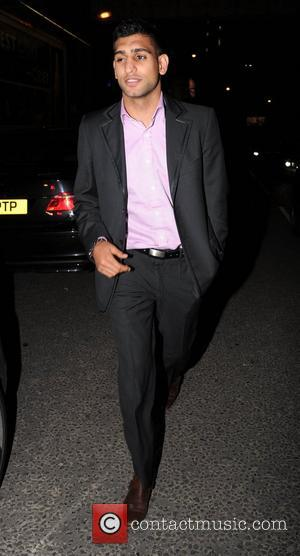 Amir Khan arrives at Bijou club Manchester, England - 14.05.11
