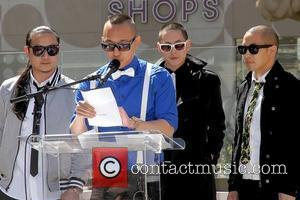 Far East Movement 2011 Billboard Music Awards nominees press conference, held at the Paris Hotel and Casino Las Vegas, Nevada...