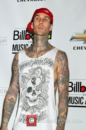 Travis Barker at the 2011 Billboard Music Awards at MGM Grand Garden Arena - press room  Las Vegas, Nevada...