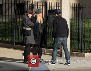 Billy Gibbons out and about in Manhattan New York City, USA - 11.11.11