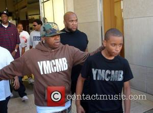 Rapper Birdman shops with his son in Beverly Hills Los Angeles, California - 25.06.11